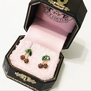 Juicy Couture | Crystal Cherry Earrings